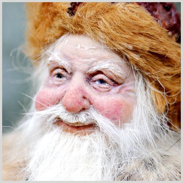 Artdolls Tatjana Raum miniature fantasy dollhouse Santa Claus